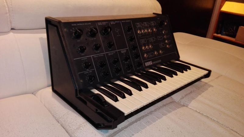 Clavier Vintage Korg Ms 10