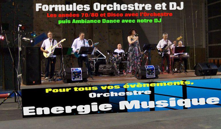 ©  - Orchestre Energie Musique anime vos manifestations