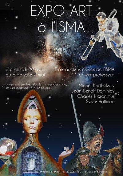 L'ISMA expose quatre artistes