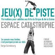 Jeu(X) de Piste @ Espace Catastrophe