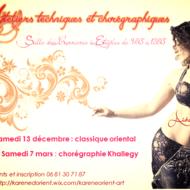 Danse Orientale avec Aïda (Stages association Lyha Orient'n Art)