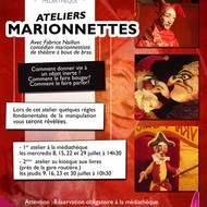 Médiathèque de Cavalaire : Ateliers Marionnettes