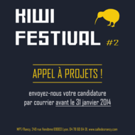 Kiwi festival - appel à candidatures !