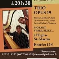 LE TRIO OPUS 19 en concert