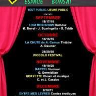 Espace Bonsaï, théâtre de poche à Antibes