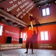 L'école de cirque et théâtre du Théâtre Onirique