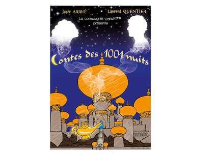 """Spectacle Enfants """"Contes des 1001 Nuits"""" Compagnie Variations"""